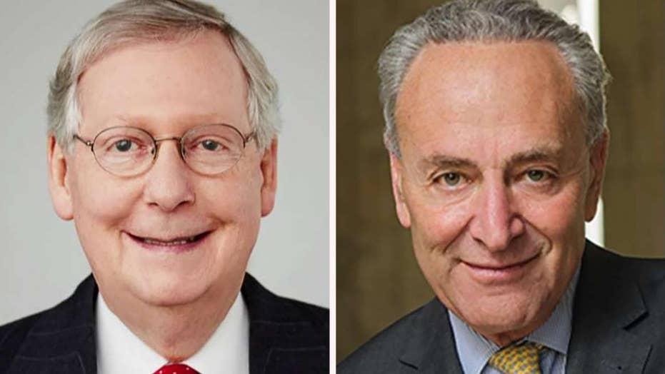 Senate split on competing bills to end the government shutdown