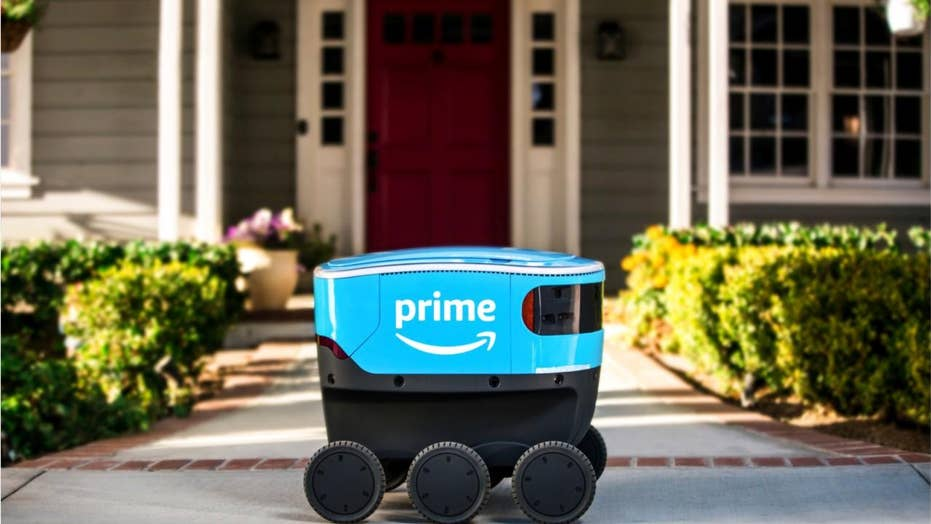 Meet Scout, Amazon's new delivery robot