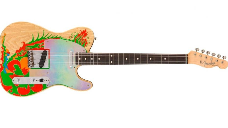 Led Zeppelin guitarist Jimmy Page's legendary dragon axe revived by Fender