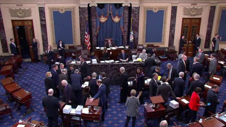 Senate rejects dueling GOP, Democratic bills to end partial