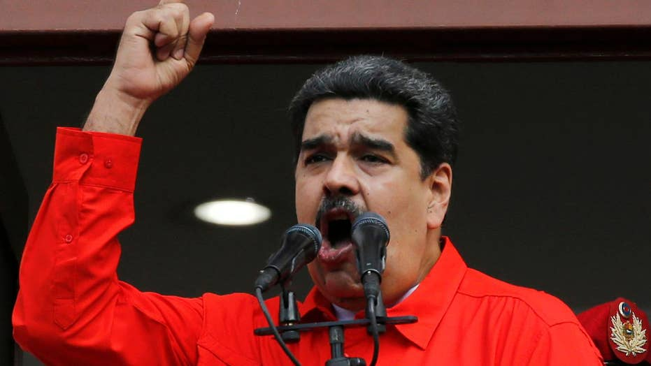 Trump administration and Venezuela's Nicolas Maduro appear on a collision course