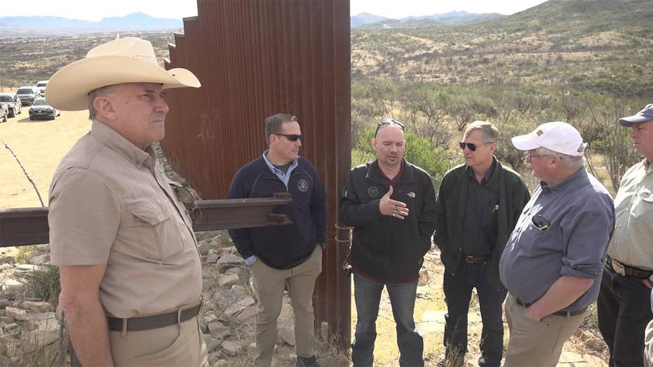 Ranchers, agents share border security concerns.