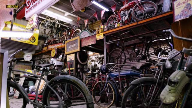Treasure trove of Indian motorcycles found in scrapyard sold for small fortune
