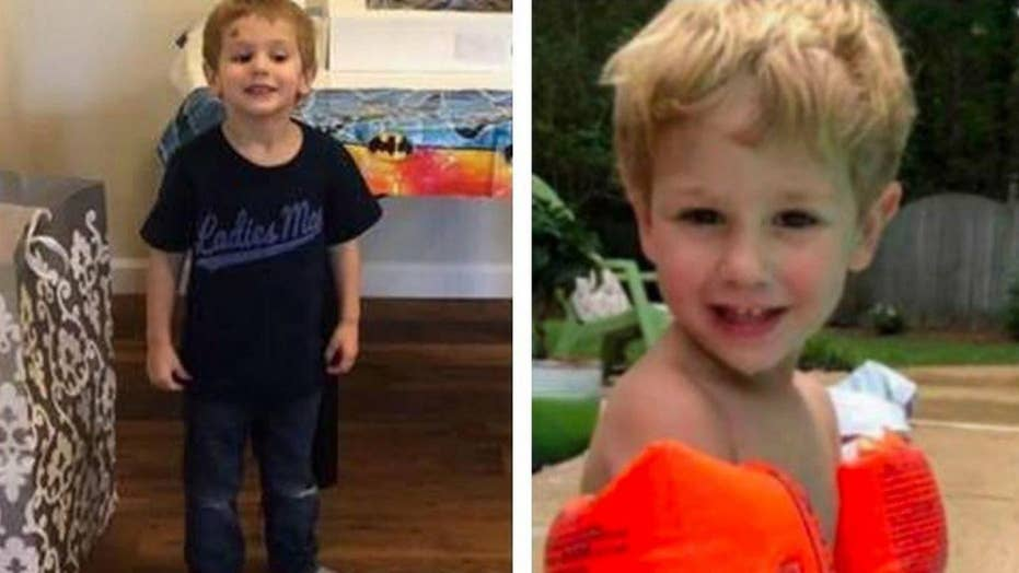 North Carolina boy, 3, found alive in freezing temperatures after tip