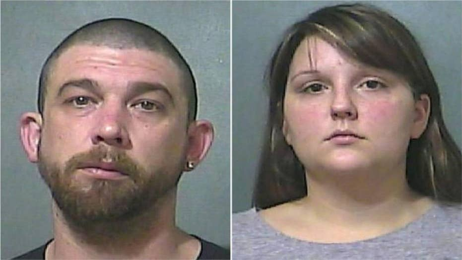 Parents arrested for splitting 14-month-old son's tongue with scissors, officials say