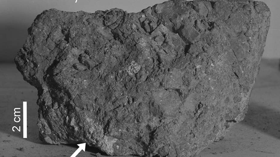 Earth's oldest rock believed to have been found on the Moon