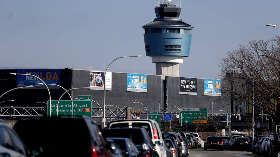 FAA lifts partial ground stop at New York's LaGuardia Airport