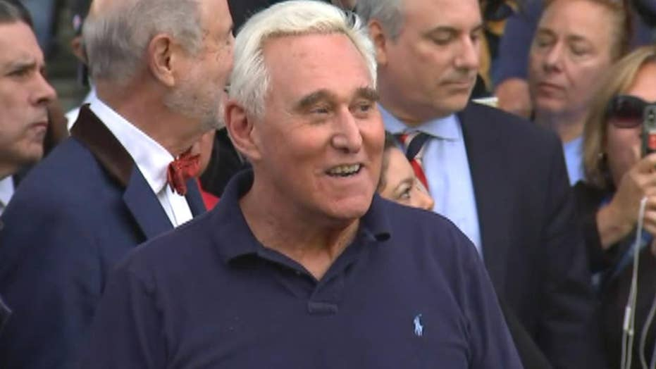 Roger Stone: I am falsely accused, will defeat charges made in 'politically-motivated' investigation