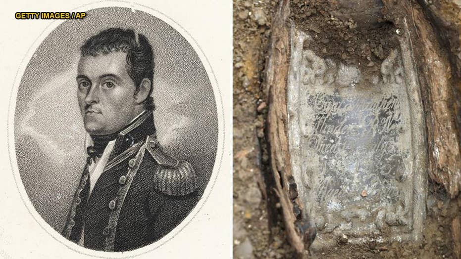 Remains of notable explorer, credited with naming Australia, found at London train station