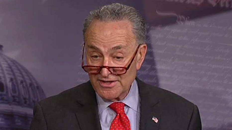 Schumer On Deal To End Partial Government Shutdown Hopefully President Trump Has Learned His