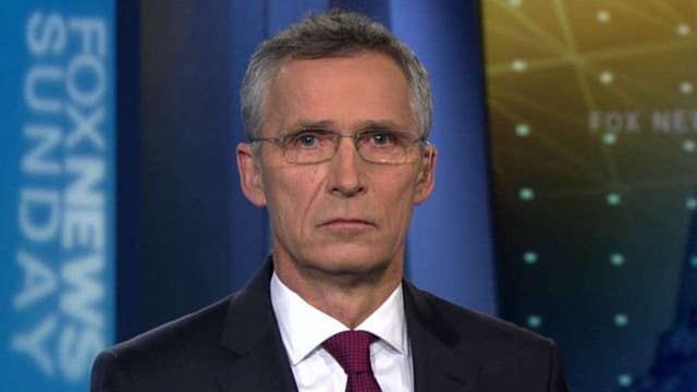 NATO's secretary general on the US role in the strategic alliance