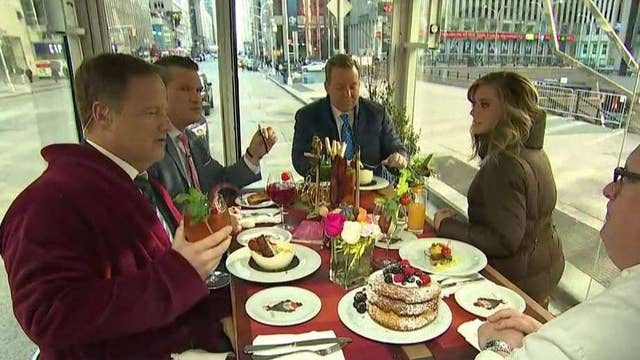 'Fox & Friends' eats breakfast on wheels, the glass truck experience