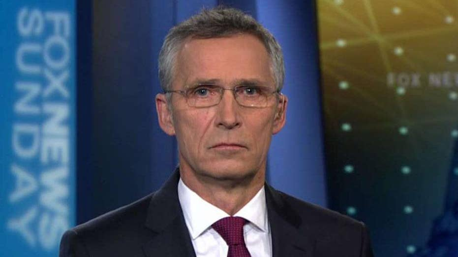 NATO's secretary general on the US role in the strategic alliance