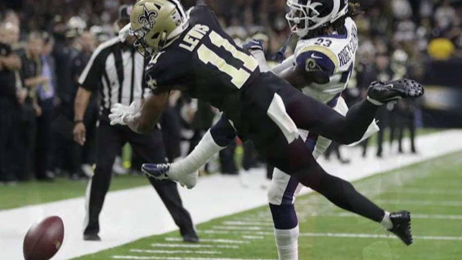 NFL refs couldn't watch replays after botched non-call crippled the Saints