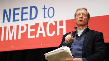 Billionaire left-wing megadonor Tom Steyer holds Trump impeachment 'training day'