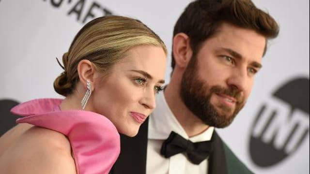 Emily Blunt brings husband John Krasinski to tears as she accepts SAG award