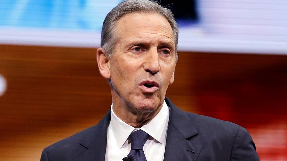 Could the real trouble for Democrats in 2020 be ex–Starbucks CEO Howard Schultz?