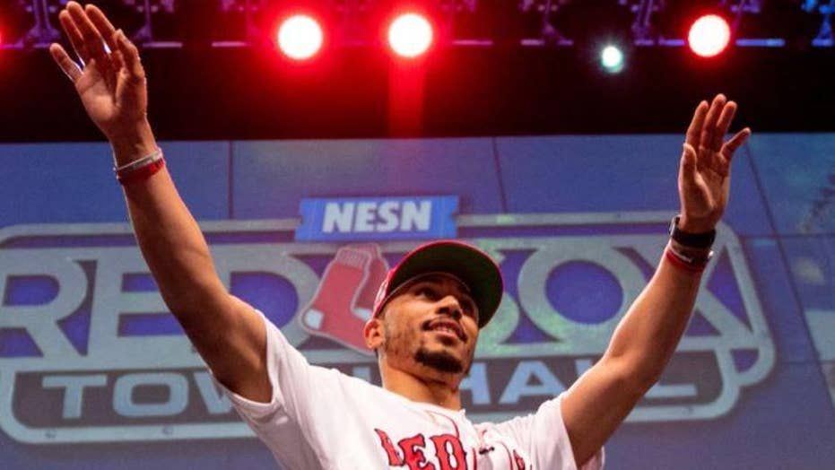 Red Sox star Mookie Betts will not go to the White House for World Series ceremony