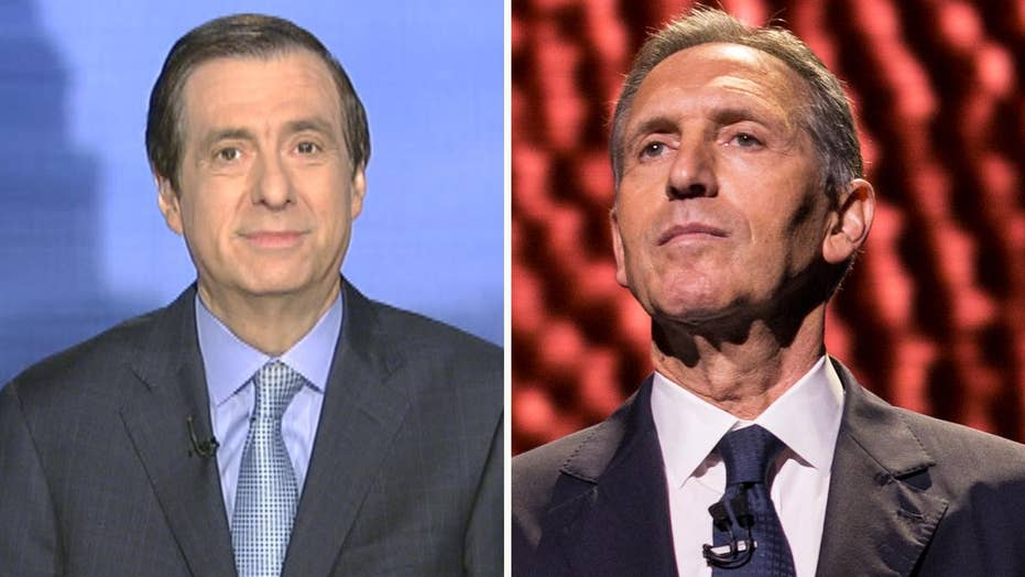 Kurtz: Is candidate Howard Schultz from latte land serious about seeking the White House?