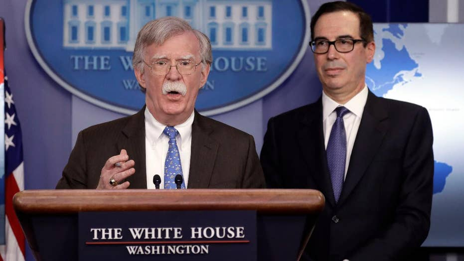 Trump administration unveils sanctions against Venezuela's state-owned oil company