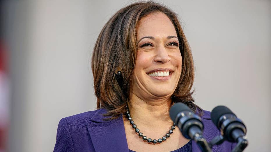 Sen. Kamala Harris pushes left-wing agenda during campaign launch speech