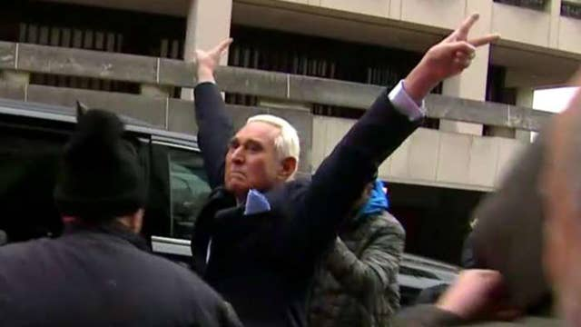 Roger Stone pleads not guilty to 7 counts including lying to Congress and witness tampering