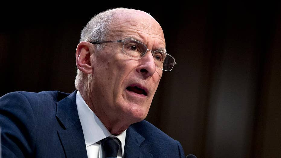 Daniel Coats, director of national intelligence, addresses Senate Intelligence Committee regarding security threates to US
