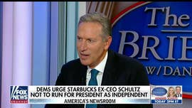 Howard Schultz flips script, warns Democrats their nominee could be 'spoiler'