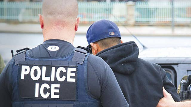 Over 100 illegal immigrants have been arrested in massive ICE raid