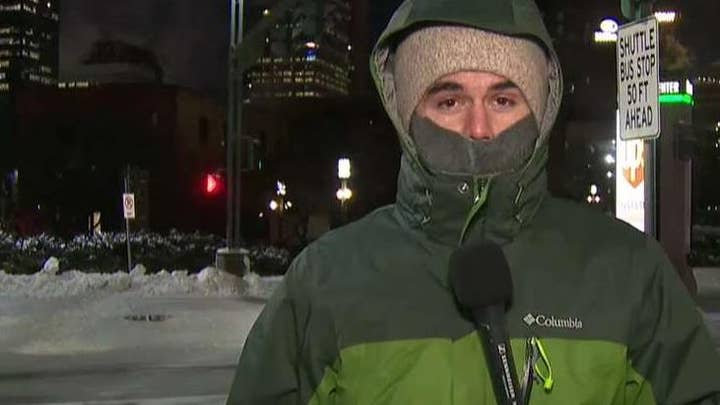 Minneapolis hit with -51 degree wind chills as polar vortex grips Midwest