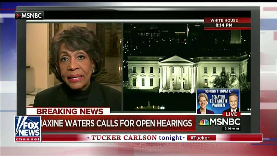 Maxine Waters Says Manafort a Russian Plant in the Campaign