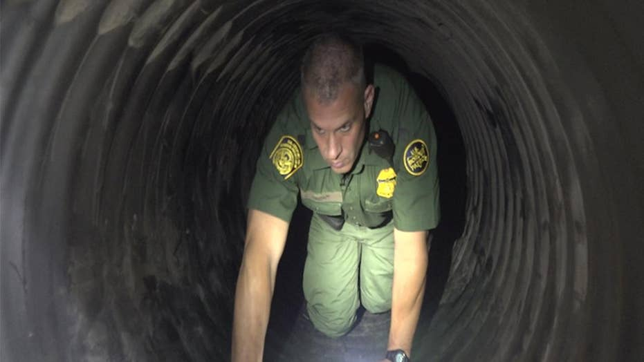 Border Patrol facing ongoing tunnel