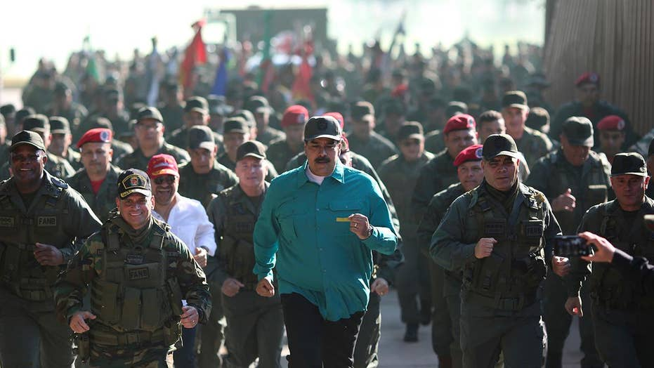 Maduro meets with troops in Venezuela, warns of possible invasion by US