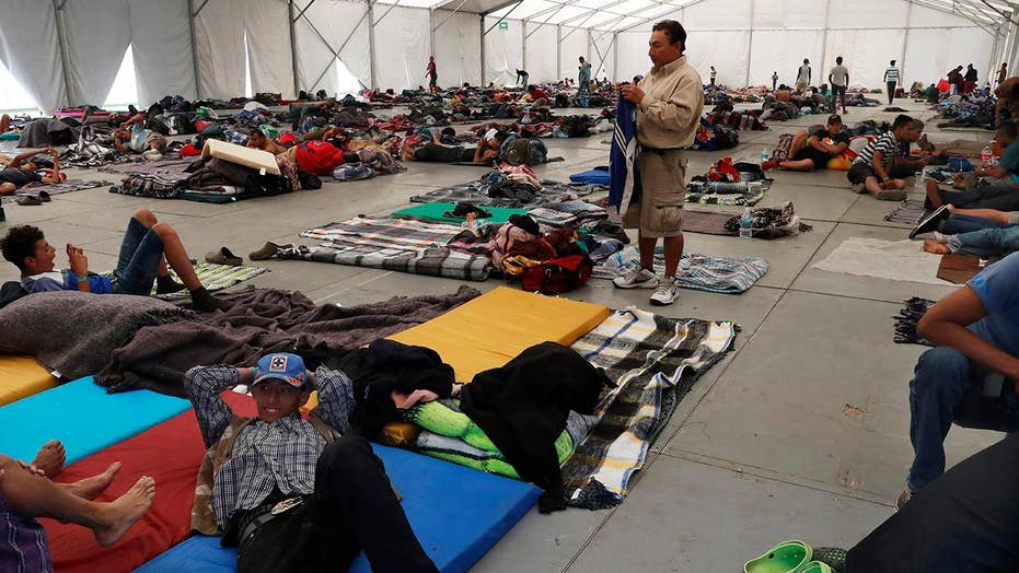 Over 2,500 migrants are getting meals, health care at one Mexico City shelter