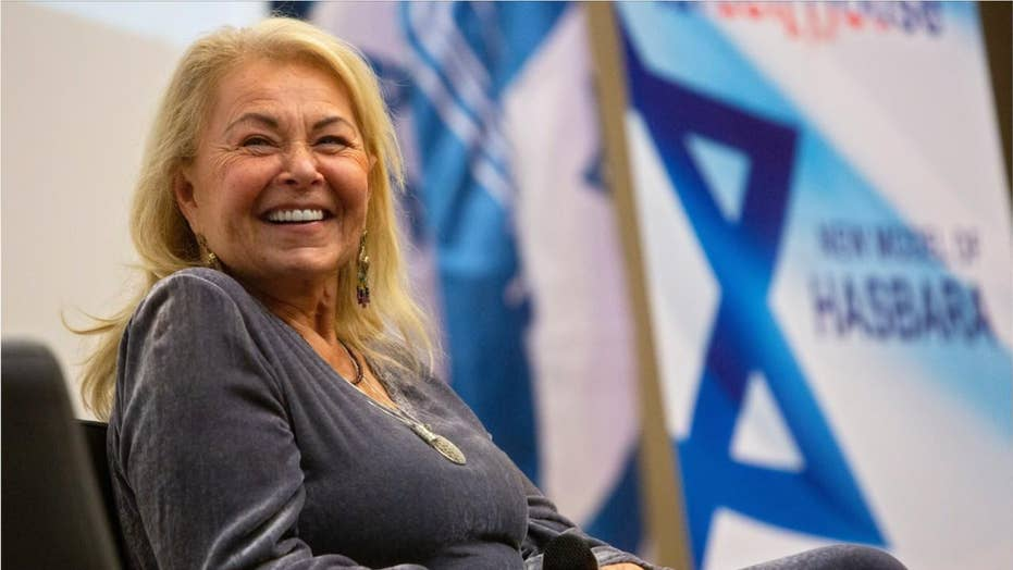 Roseanne Barr: 'We have Hamas in Congress,' BDS has 'infected' the Democratic Party