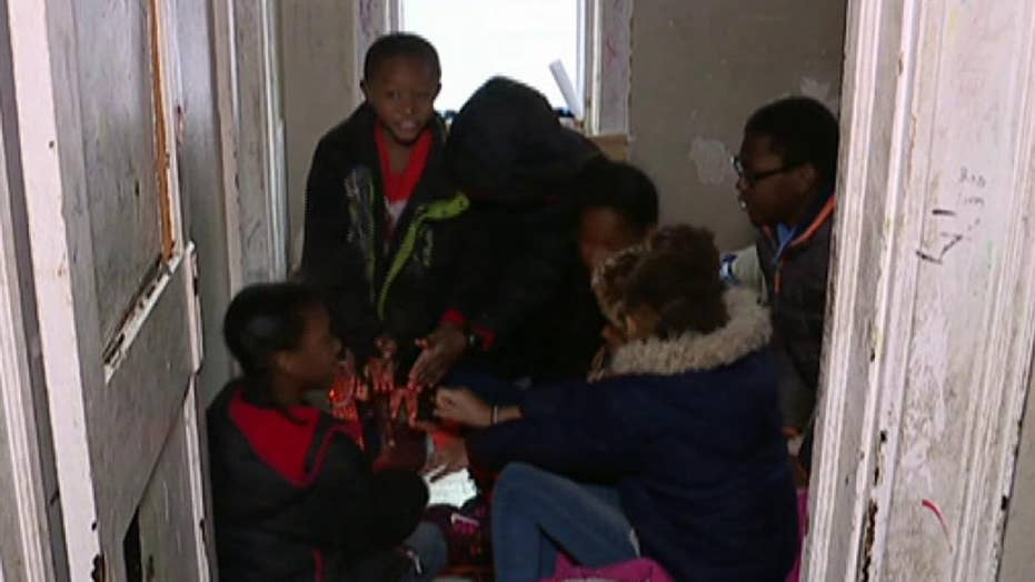 Community comes together to help family with no heat