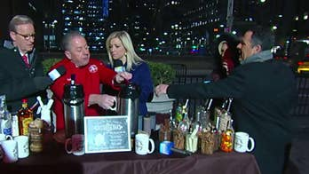 'Fox & Friends' battles the bitter cold on National Hot Chocolate Day