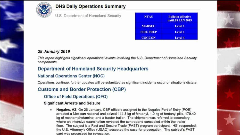 Border Patrol makes huge fentanyl bust