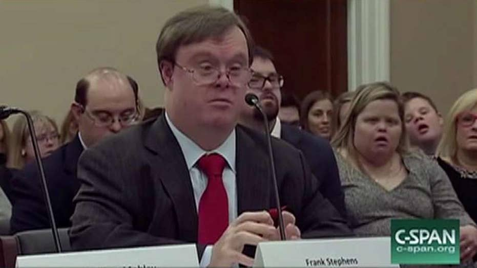 'My life is worth living': Man with Down syndrome's 2017 testimony goes viral
