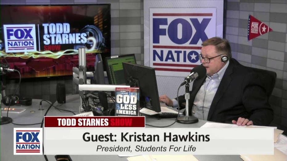 Todd Starnes and Kristan Hawkins