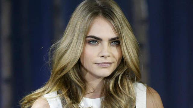 Cara Delevingne recreates Janet Jackson's 'iconic' topless cover in new fashion campaign