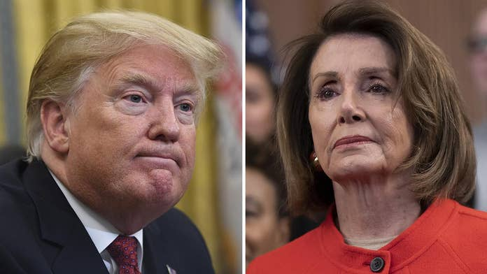 Pelosi undermines Trump abroad on US-UK trade deal, says 'no chance' if Brexit hurts Irish peace accord