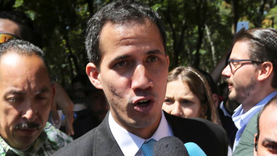 Guaido ready to launch a challenge against Venezuela's military