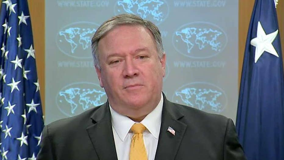 Pompeo announces suspension of Cold War-era nuclear treaty with Russia