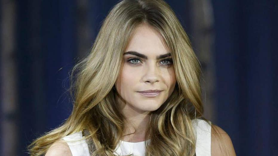Cara Delevingne Recreates Janet Jacksons Iconic Topless Cover In New Fashion Campaign