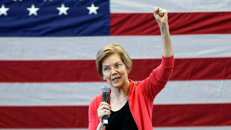 Elizabeth Warren calls out billionaire 'freeloaders', apologizes to Cherokee nation