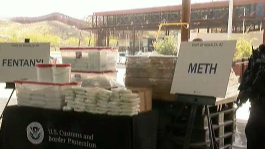 Customs and Border Patrol agents seize $3.5 million worth of fentanyl