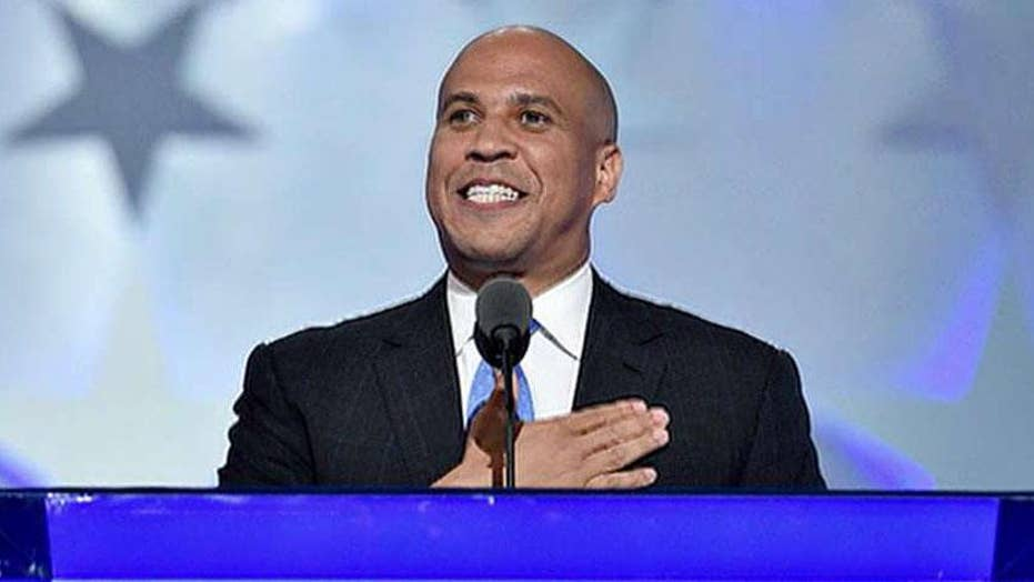 Cory Booker becomes latest Democrat to declare his candidacy for 2020