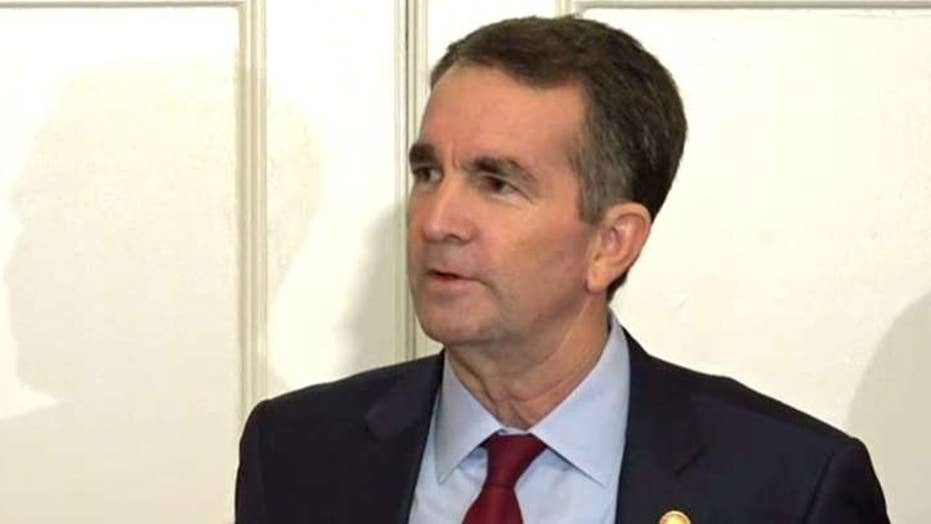 Virginia Democrat Gov. Ralph Northam says he will not resign amid racist-photo scandal