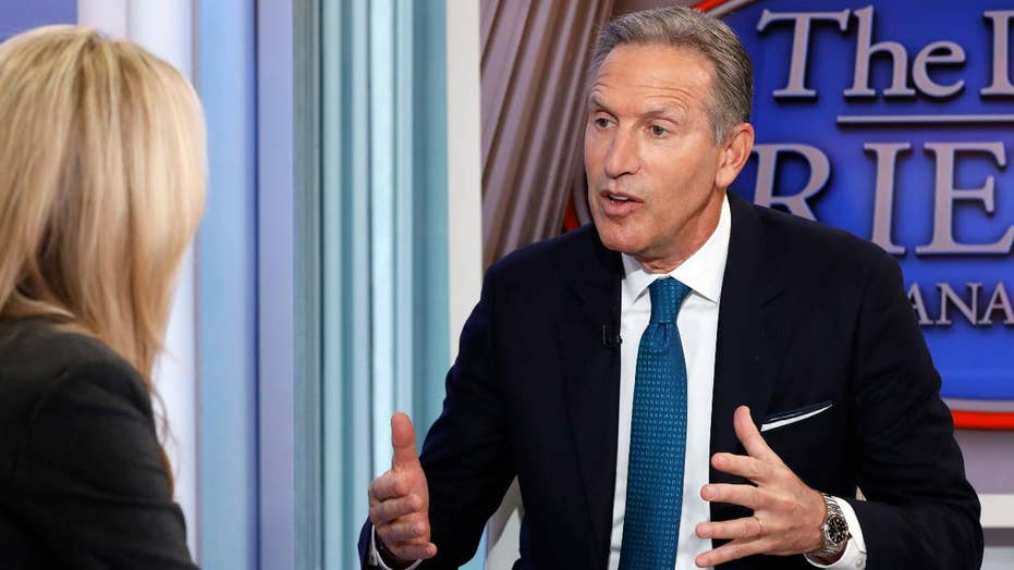 Pundits roast Howard Schultz